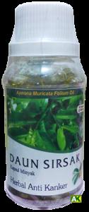 daun sirsak kapsul minyak 90 kapsul - abdullah herbal